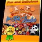 (PLR) Bento Boxes for Kids Recipe Book, Images & Ecovers
