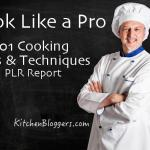 Cook Like a Pro PLR Report
