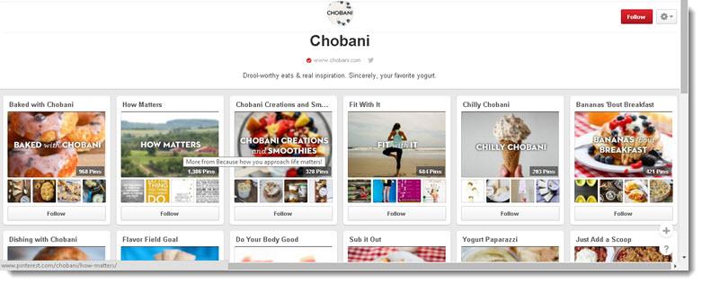 Chobani on Pinterest