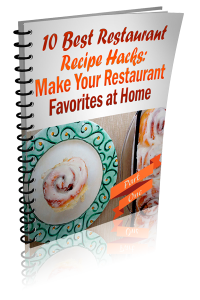Restaurant Recipe Hacks Ecover