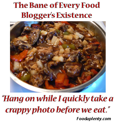 The Ban of Every Food Blogger's Existence
