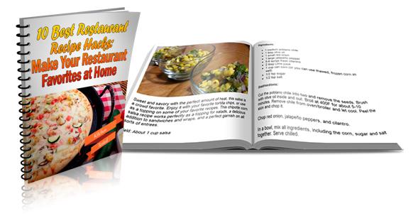 Recipe Hacks - Restaurant Copycat Recipes with PLR Rights