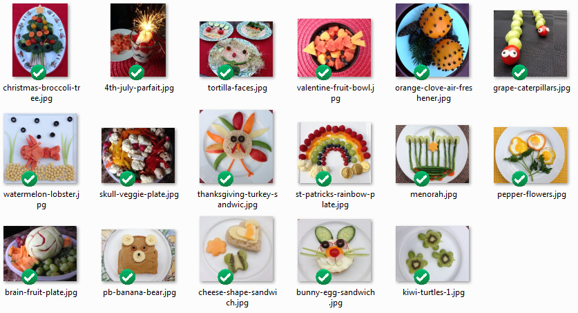 Healthy Food Assets Psd