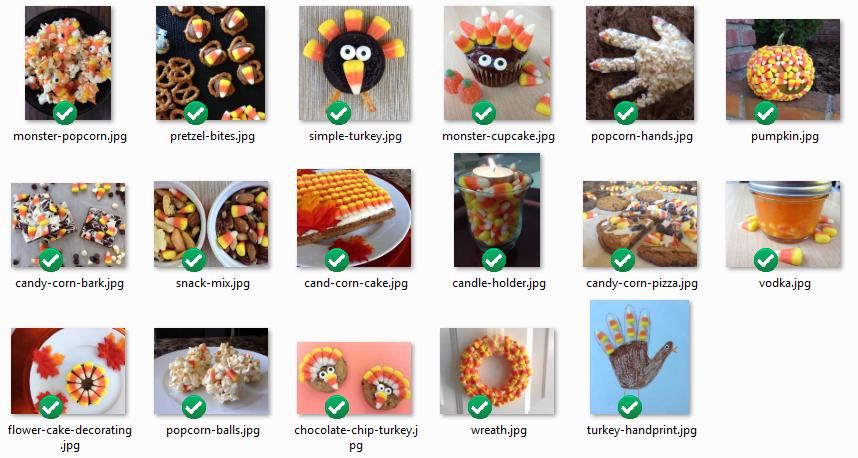 Candy Corn Idea Photos