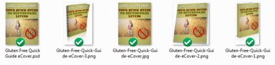 Gluten-Free Report Cover Screen