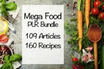 Mega Food PLR Bundle - No Images