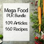 Mega Food PLR Bundle