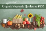 Organic Vegetable Gardening PLR