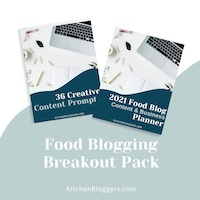 Food Blogging Breakout Pack