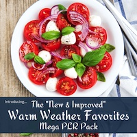 Pre-Sale: New & Improved Warm Weather Favorites Mega PLR Pack