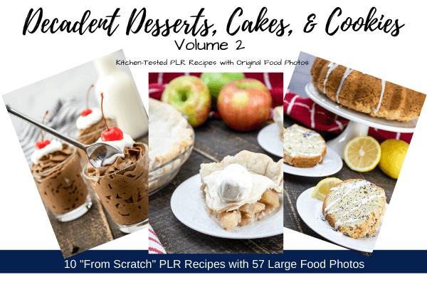 Decadent Desserts - Volume 2 Banner